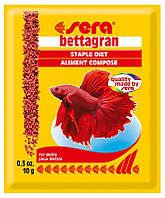 Корм для рыб петушков Sera Bettagran 10г