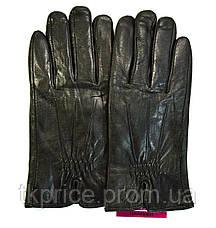 Мужские кожаные перчатки на махре, фото 3