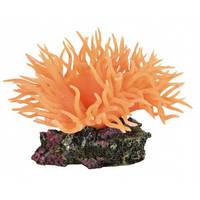 """Грот для террариума и аквариума """"Анемон"""" Трикси оранжевый 11см"""
