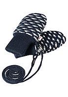 Зимние  рукавицы для мальчика  Reima Uninen 517152-6980. Размеры 0-1.
