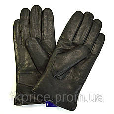 Мужские кожаные перчатки на натуральной овчинке, фото 2