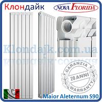 Алюминиевый радиатор Nova Florida Maior Aleternum S90 900*90 (Италия)