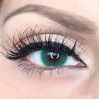 Недорогие цветные линзы для глаз.