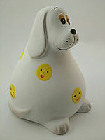 Копилка из керамики Собака Бим 15 см х16 см