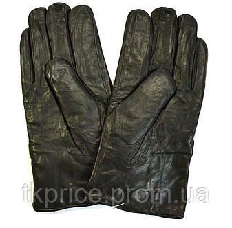 Мужские кожаные перчатки на натуральной овчинке , фото 2