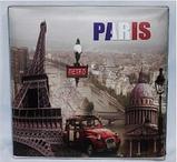 """Пуфик складной """"Paris"""" (31*31*31 см) , фото 2"""