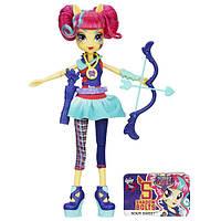 My little pony Девочки Эквестрии Соур Свит серия стрельба из лука Equestria Girls Archery Sour Sweet Doll, фото 1