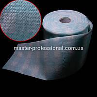 Одноразовые безворсовые полотенца в рулоне в клетку 100шт.