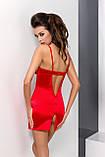 Комплект білизни Loraine chemise red XXL/XXXL - Passion, фото 3