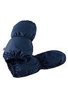 Зимние  рукавицы для мальчика  Reima Taputus 517154-6980. Размеры 0-1.