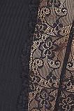 Комплект белья Zoja chemise black L/XL - Passion, фото 3