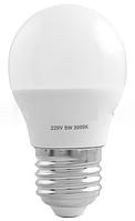 Лампа светодиодная a45 е27 5w 3000k стандарная- 17 lo