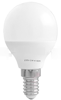 Лампа светодиодная a45 е14 5w 4100k стандарная-18 lo