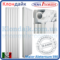 Алюминиевый радиатор Nova Florida Maior Aleternum S90 1000*90 (Италия)