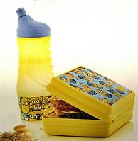 Набор ланч бокс и бутылка Миньон Tupperware