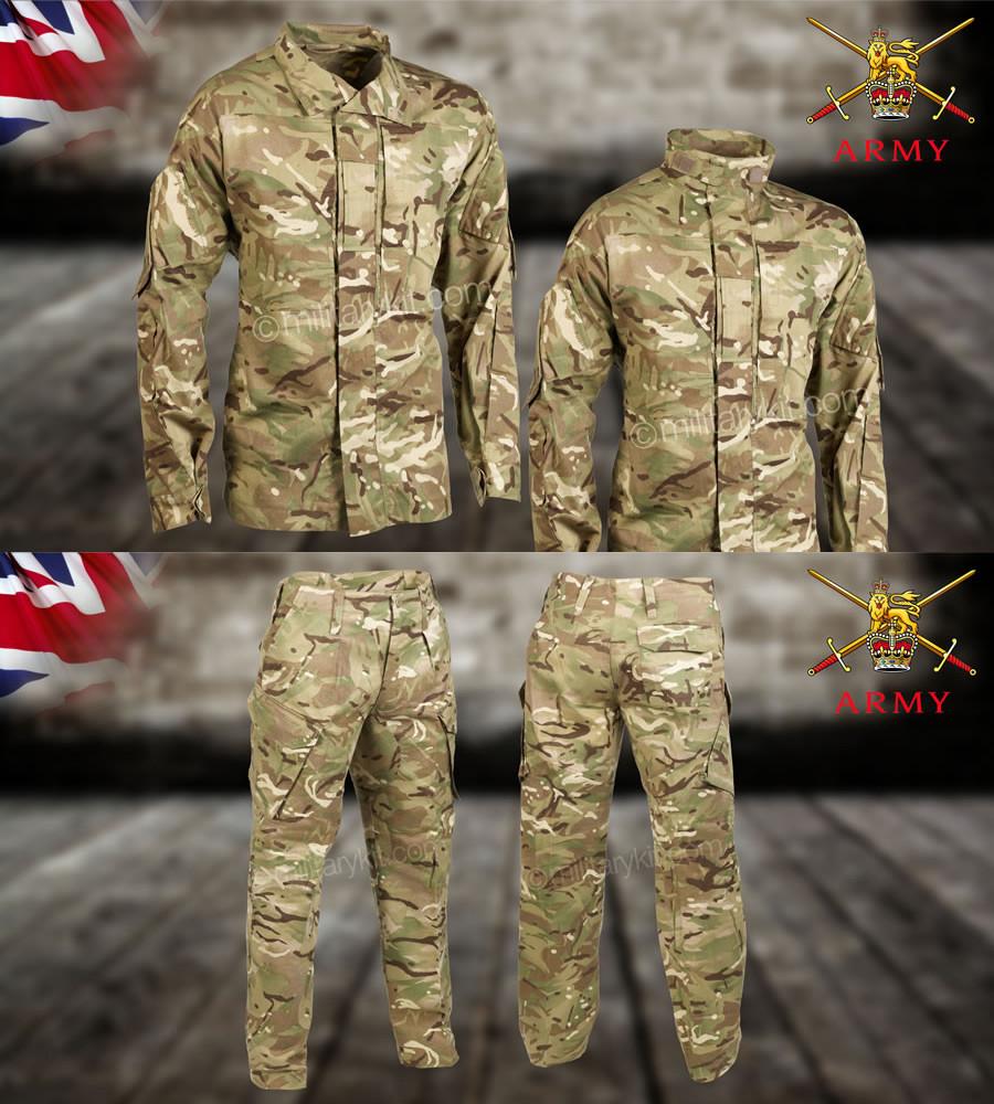 Комплект брюки + китель оригинал ВС Великобритании - MTP
