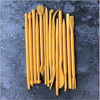 Набор инструментов (стеки) для работы с мастикой, 14 шт.