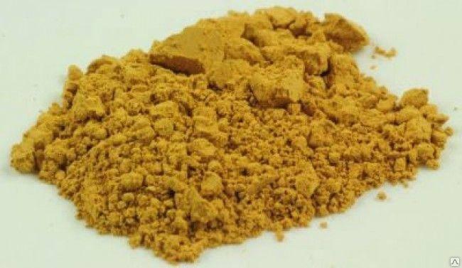 Пигмент желтый темный UA312, фото 2