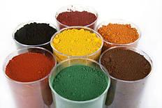 Пигмент железоокисный разные цвета
