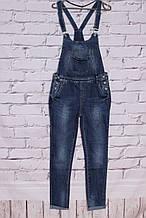 Женский джинсовый комбинезон со штанами (код 1032)