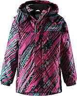 Зимняя куртка для девочек LassieTec by Reima 721710 - 3323. Размеры 110 - 128., фото 1