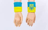 Напульсник махровый Украина (1шт) BC-4063 (х-б, PL, безразмерный)
