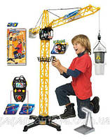 Башенный кран Dickie Toys с пультом управления, высота 100 см  3462411