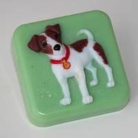 Пластиковая форма для мыла Джек Рассел терьер