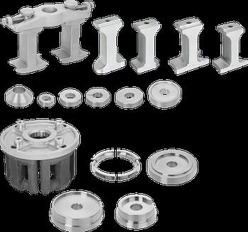 Универсальный набор для демонтажа и монтажа подшипника, Vigor, V3866
