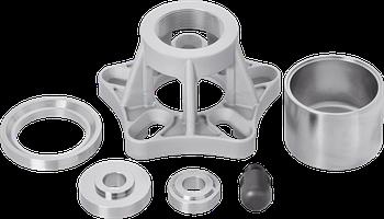 Набор для замены подшипников задних колес, CITROËN, FIAT, FORD, PEUGEOT, Vigor, V2880