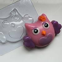 Пластиковая форма для мыла Сова летит