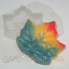 Пластикова форма для мила Лист/Клен