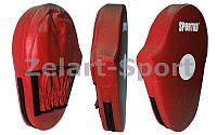 Лапа Прямая удлиненная (2шт) Кожвинил SPORTKO UR PD3-R (р-р 30x20x5см, красная)