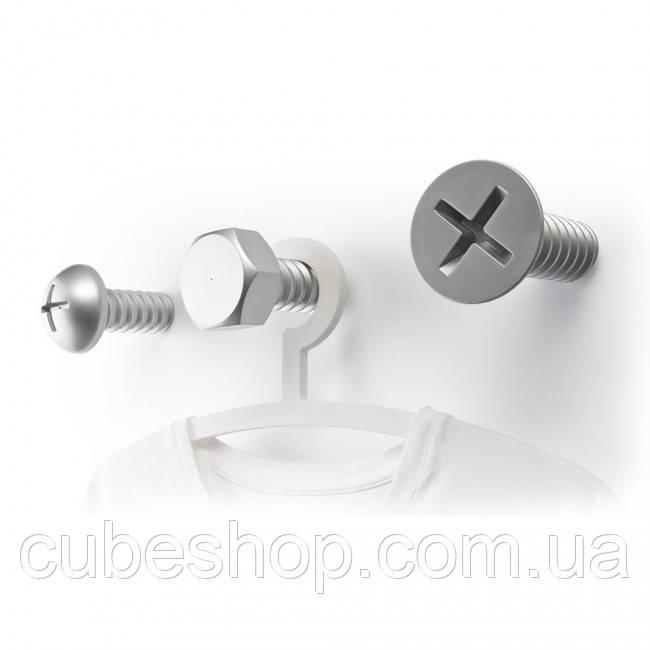 Крючки настенные Screw Collection Qualy