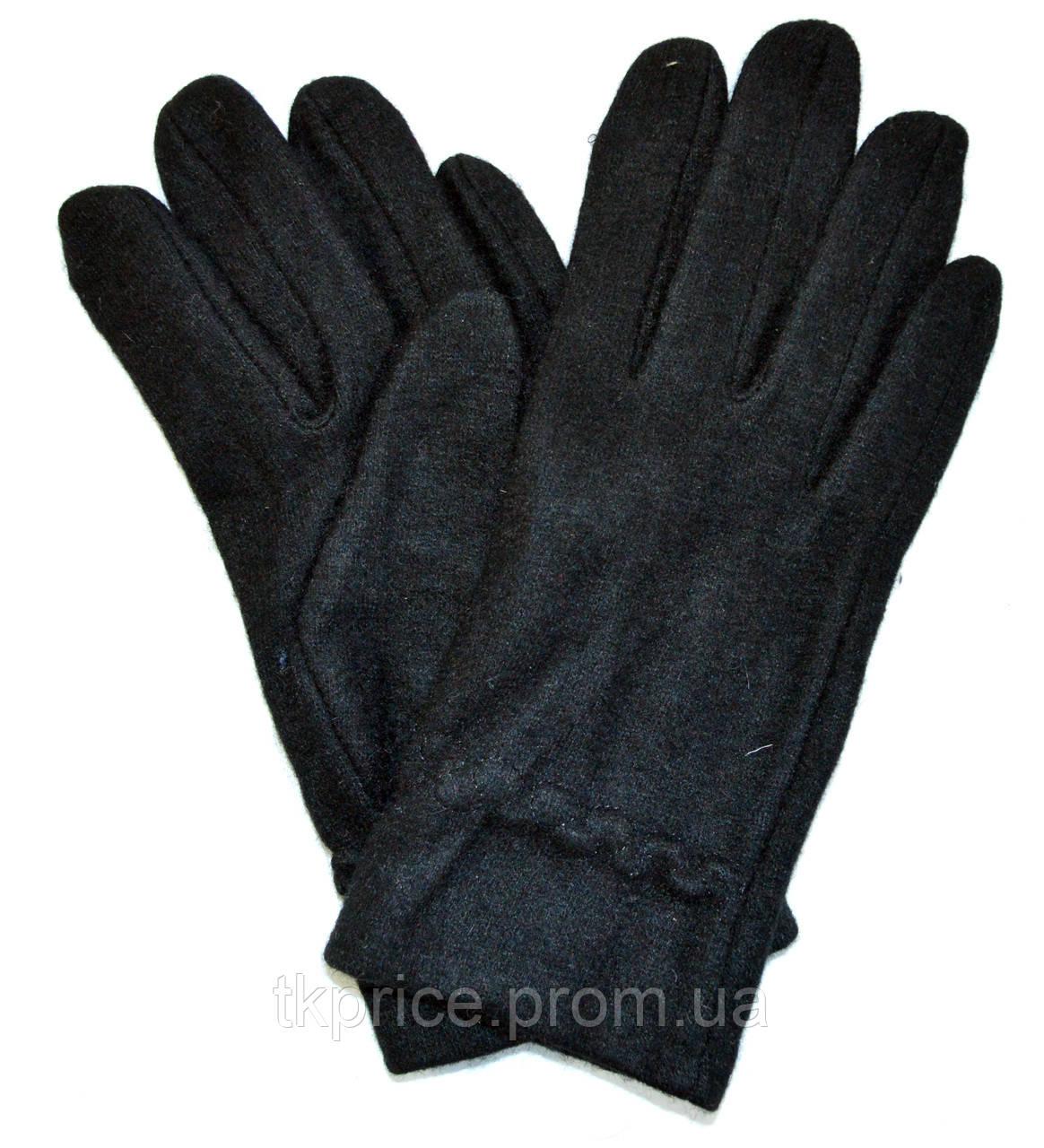 Мужские кашемировые перчатки без подкладки