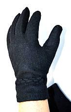 Мужские кашемировые перчатки без подкладки, фото 3