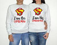 """Парные свитшоты """"I am Her Superman, I am his Superwoman"""""""