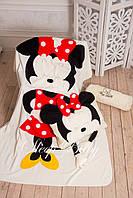 Комплект Микки Плед и подушка