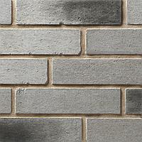 Декоративная плитка Бельгийский кирпич (серый паленый)