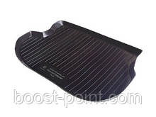 Коврик багажника (корыто)-полиуретановый, черный mitsubishi outlander I (митсубиси аутлендер) 2001-2006