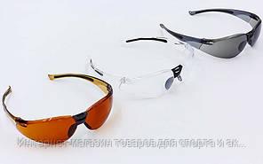 Очки спортивные BC-818 (пластик, акрил, цвета в ассортименте)