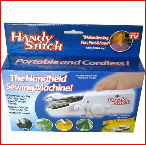 Портативная Мини ручная швейная машинка Handy Stitch