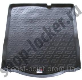 Коврик багажника (корыто)-полиуретановый, черный Peugeot 301 (пежо 301 2013г+)