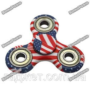 Спиннер Handspinner spinner Американский флаг , фото 2