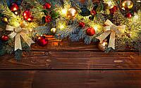 Фотофон виниловый, рождественская гирлянда