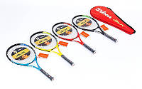 Ракетка для большого тенниса BT-0002 WILSON, BABOLAT (, цвета в ассортименте)