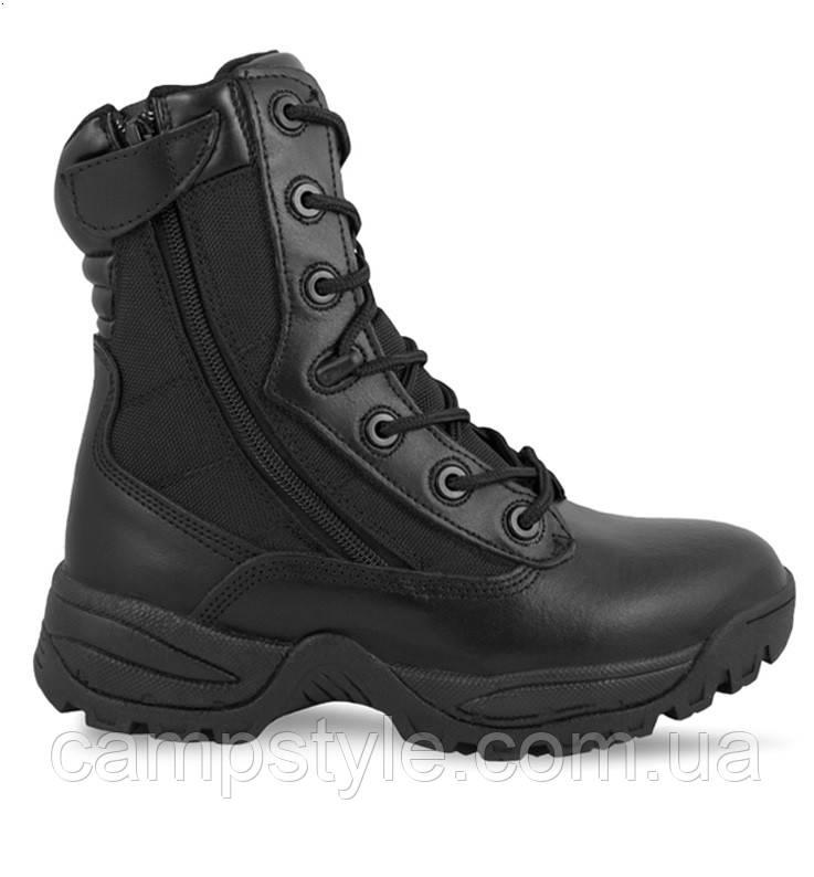 Ботинки Mil-tec Black Tactical Boots Two-Zip