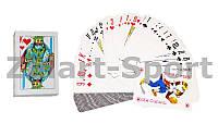 Игральные карты с ламинированным покрытием 9810 (колода в 54 листа, толщина-0,1мм)