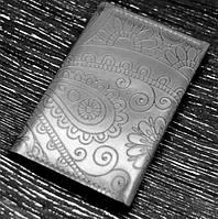 Обложка для паспорта Etno Grey