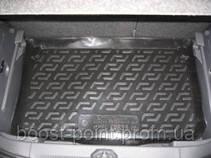 Коврик багажника (корыто)-полиуретановый, черный Opel Corsa D (опель корса д 2006-2014)